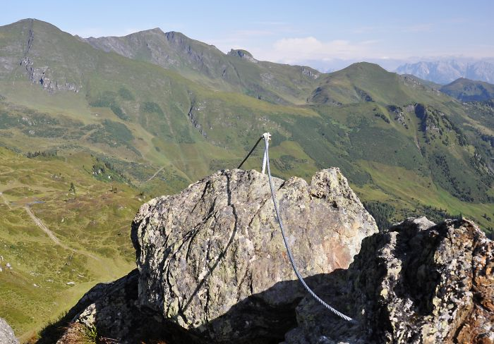 Klettersteig Oostenrijk : Gastein im bild menschenwerke klettersteig hirschkarspitze
