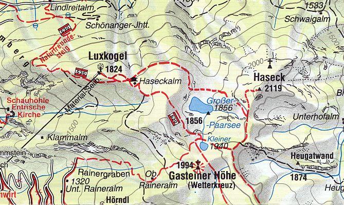 Hohe Tauern Karte.Gastein Im Bild Geologie Hohe Tauern Gasteinertal Karte