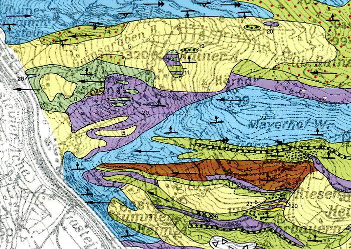 Hohe Tauern Karte.Gastein Im Bild Geologie Gasteinertal Nordrahmenzone Der Hohen
